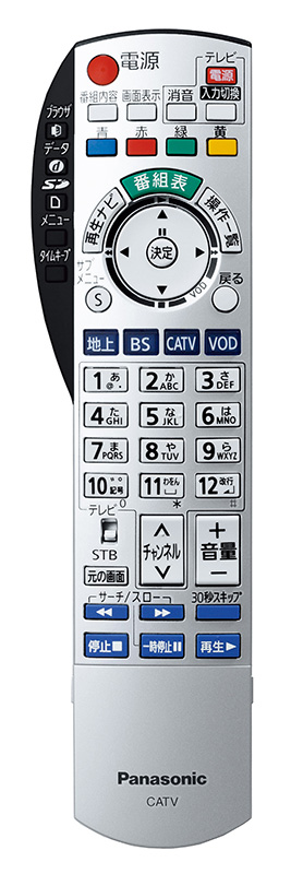 TZ-DCH2000リモコン