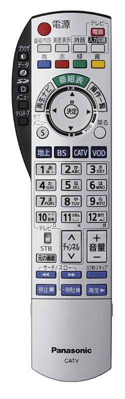 TZ-DCH2810リモコン